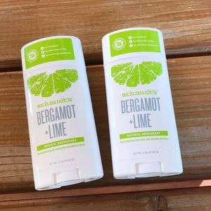 Schmidt's Bergamot and Lime Natural Deodorant